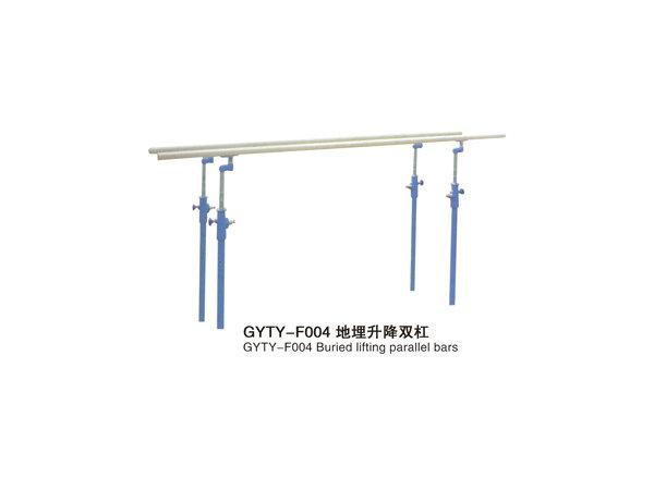 GYTY-F004地埋升降双杠