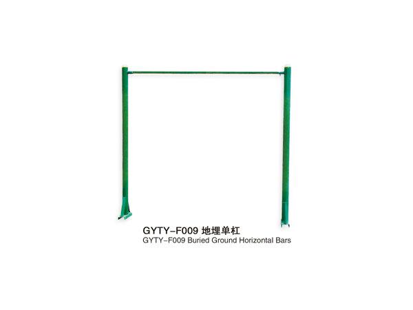 GYTY-F009地埋单杠